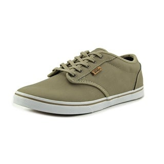 Vans Atwood Low Dx Round Toe Leather Sneakers