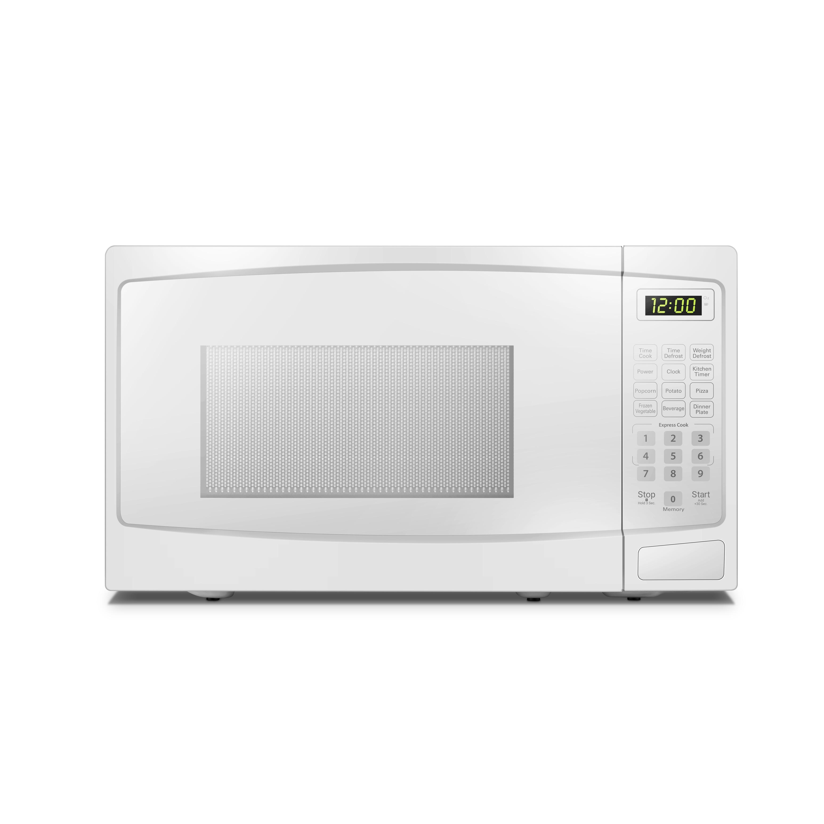 danby 7 cu ft counter top 700 watt microwave in white dbmw0720bww