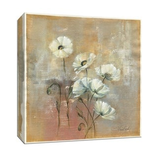 """PTM Images 9-153403  PTM Canvas Collection 12"""" x 12"""" - """"Spring Field I"""" Giclee Flowers Art Print on Canvas"""