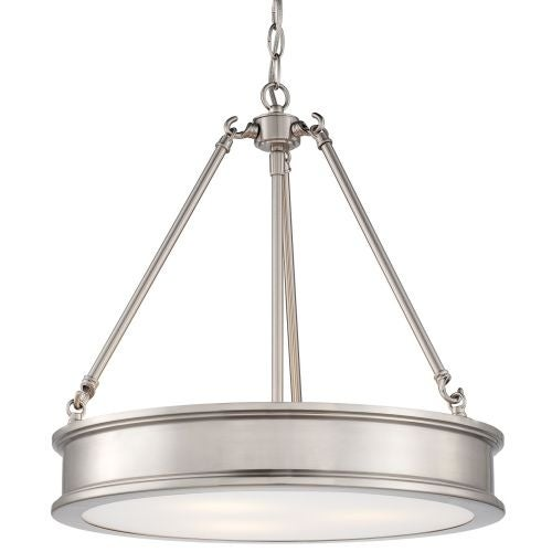 Minka Lavery ML 4173 3 Light Indoor Full Sized Pendant from the Harbour Point Collection