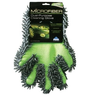 Peak PKC0GM Dual Purpose Cleaning Glove, Microfiber