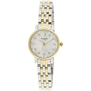 Kate Spade Women's Monterey KSW1244 Gold Stainless-Steel Quartz Fashion Watch