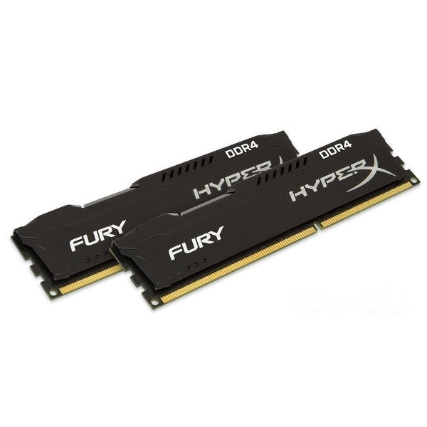 HyperX FURY Black 16GB Kit (2x8GB) 2133MHz DDR4 CL14 PC42133 DIMM XMP Desktop Memory (HX421C14FB2K2/16)