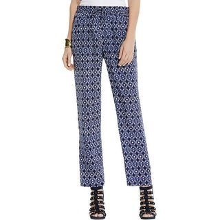 Vince Camuto Womens Casual Pants Printed Flat Front