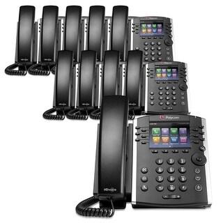 Polycom VVX 401 (2200-48400-025) (10-pack) 12-line Desktop Phone