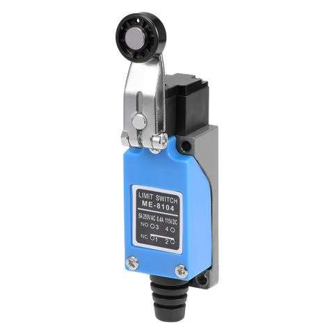 ME-8104 Roller Lever Arm Momentary Limit Switch 1NC+1NO - Ordinary - 8104