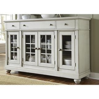 Link to Cottage Harbor View Dove Grey Buffet Similar Items in Dining Room & Bar Furniture