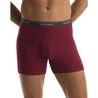 Hanes Classics Mens Assorted Dyed Boxer Briefs P5 - Size - XL - Color - Assorted