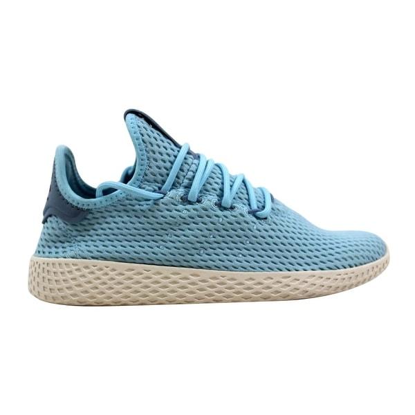 880d3df84e062 Adidas Pharrell Williams Tennis Hu J Ocean Blue White CP9802 Grade-School