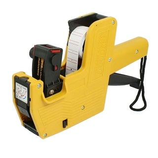 Yellow Plastic Shell Handheld Shopping Price Labeller Labeler Tag Gun