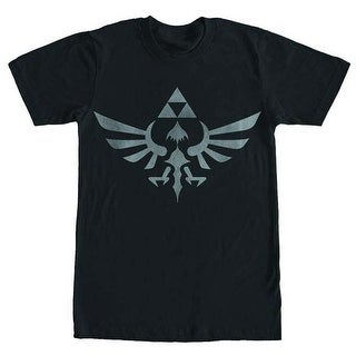 Legend of Zelda Skyward Sword Triforce Logo Black T-Shirt Large,Medium,Small,X-Large,XX-Large