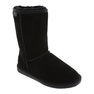 Portland Boot Company Women's To The Coast Cozy Boot Black Suede