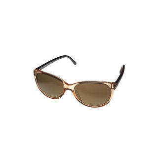 Kenneth Cole Reaction Sunglass Round Kenneth Cole Reaction Sunglass Round Crystal Champagn Plastic, Mirror KC1271 45G Plastic, M