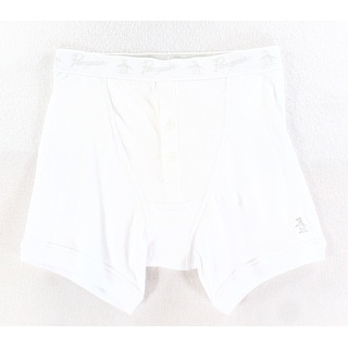 Penguin by Munsingwear NEW White Mens Size Small S Boxer Brief Underwear