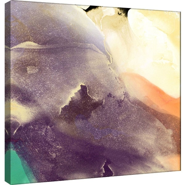 """PTM Images 9-101142 PTM Canvas Collection 12"""" x 12"""" - """"Dream Landscape A"""" Giclee Abstract Art Print on Canvas"""