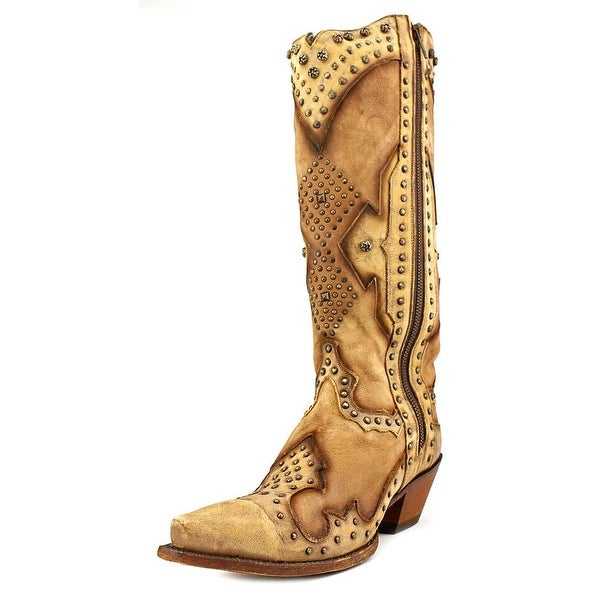 Dan Post DP3689 Pointed Toe Leather Western Boot
