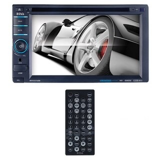 """Boss 6.2"""" DDin Receiver DVD/CD/MP3 Bluetooth Touchscreen"""
