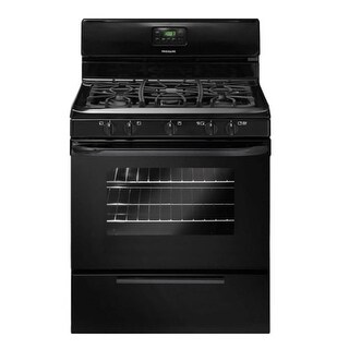"Frigidaire FFGF3019LB 30"" Freestanding Gas Range with 4.2 Cu.Ft. Oven - Black"