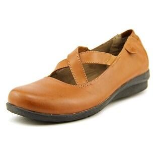 Array Inga N/S Round Toe Leather Mary Janes