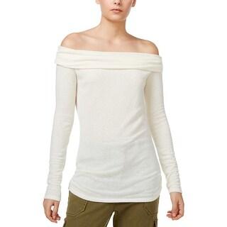 Rachel Rachel Roy Womens Pullover Top Knit Casual