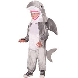 Forum Novelties Shark Attack Child Costume (L) - Grey - Large