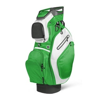 Sun Mountain 2018 C-130 (No Logo) Cart Bag - Gunmetal / Lime / White - CLOSEOUT - Gunmetal / Lime / White