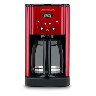 Cuisinart DCC-1200 Brew Central 12 Cup Programmable Coffeemaker, Metallic Red