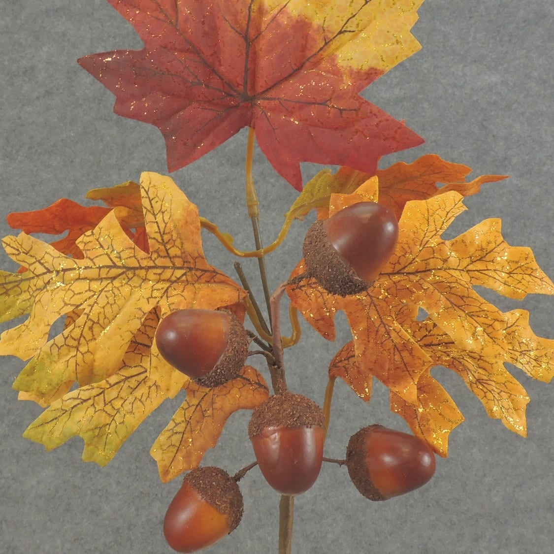 CraftMore Maple Pick with Acorns 12 Set of 6