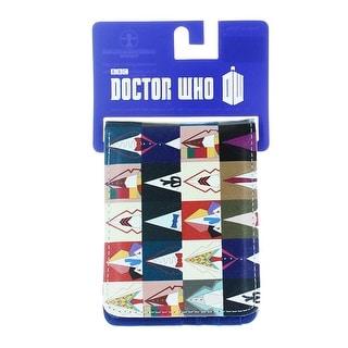 Doctor Who Bi Fold Wallet All Doctors
