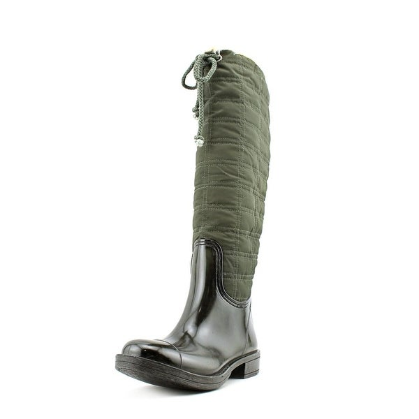 Dirty Laundry Rush Hour Women Round Toe Canvas Rain Boot