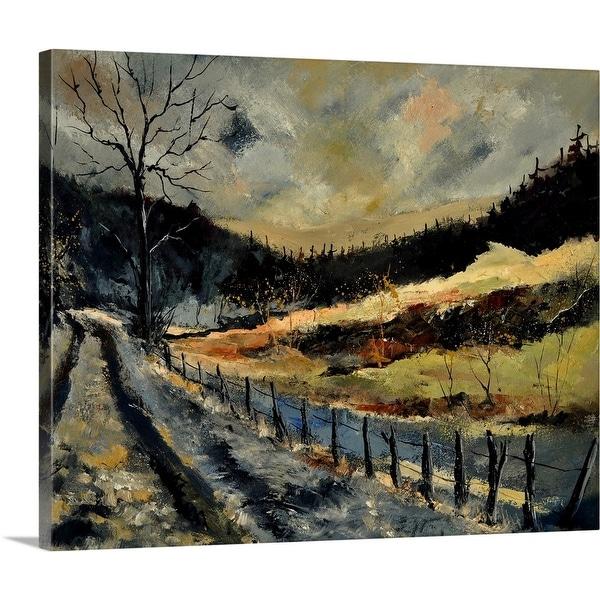 """""""Winter 563110"""" Canvas Wall Art"""