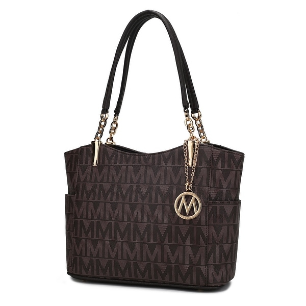 MKF Collection Braylee M Signature Tote by Mia K.. Opens flyout.