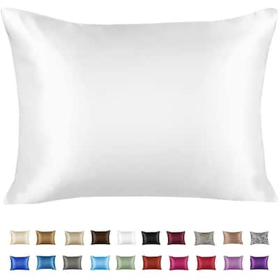 Satin Pillowcase for Hair and Skin with Hidden Zipper