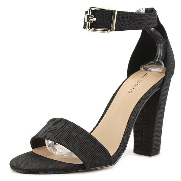 Call It Spring Arther Women Black Sandals