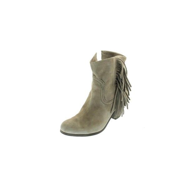 6013b306b9cd13 Shop Sam Edelman Womens Louie Ankle Boots Suede Fringe - Free ...
