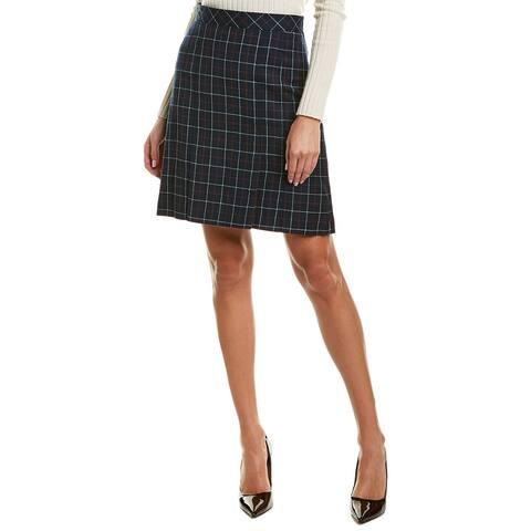 Brooks Brothers Wool Mini Skirt