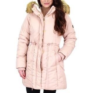 Jessica Simpson Womens Parka Coat Water Resistant Puffer