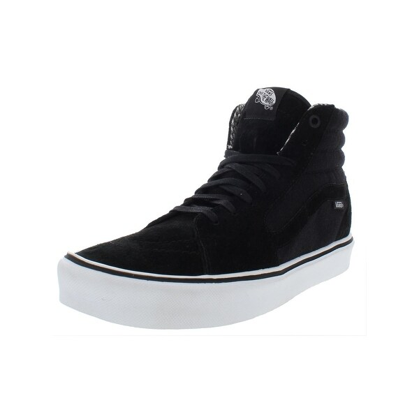 34e78918c3 Shop Vans Mens SK8-Hi Lite Skateboarding Shoes Suede Sport - Free ...