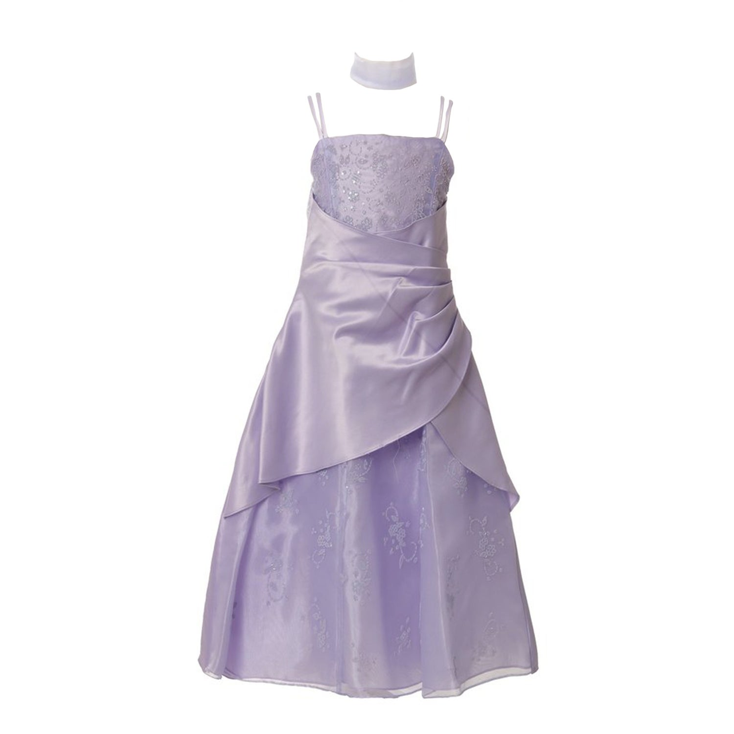 Shop Huncho Big Girls Lavender Organza Lace Overlay Junior Bridesmaid Dress Overstock 30391638,Wedding Dresses Abilene Tx