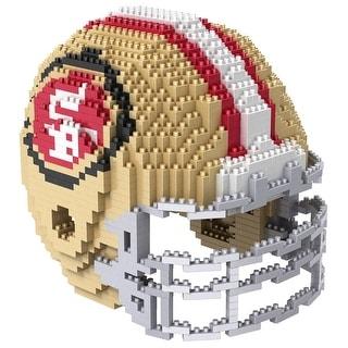 San Francisco 49ers 3D NFL BRXLZ Bricks Puzzle Team Helmet
