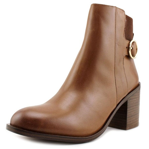 Aldo Rosaldee Women Round Toe Leather Brown Ankle Boot