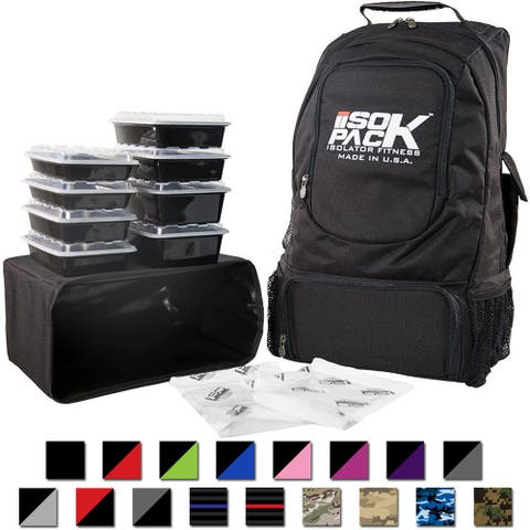 Isolator Fitness Second Generation 4 Meal ISOPACK Meal Management Backpack - One Size