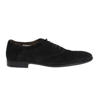 Dolce & Gabbana Black Leather Dress Derby Formal Shoes - 41