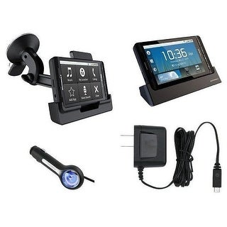 Motorola Droid X MB810 Home Charger, Car Charger, Desktop Charger, Window Mount