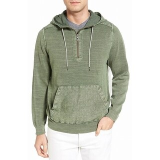 Tommy Bahama Green Mens Size XL Cypress Sail Hooded Knitted Sweater