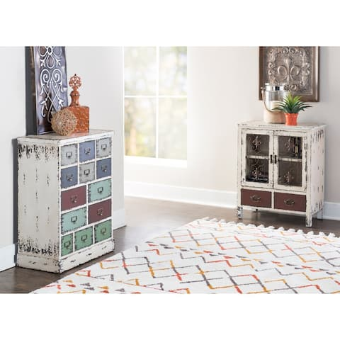 Powell Parcel 13 Multi Colored Drawer Cabinet