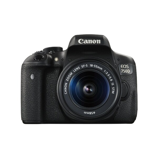 Canon EOS 750D Digital SLR Camera with 18-55mm IS STM (Intl Model)