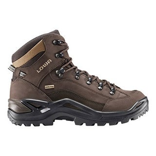 Lowa Men's Renegade GTX Mid Hiking Shoes Gortex - Espresso/Brown
