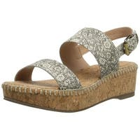Corso Como Womens Sandy Open Toe Casual Platform Sandals