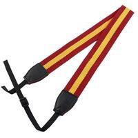SHETU Authorized Camera Anti-slip Shoulder Neck Strap Belt Red Yellow for DSLR